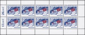 2322 SWK 2,60 Euro Dreimastbark Seute Deern - 10er-Bogen ** postfrisch