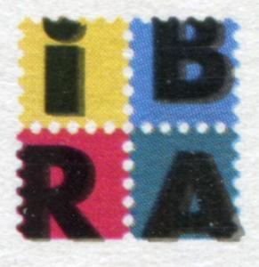 Block 46 IBRA Nürnberg mit Doppeldruck der Farbe Schwarz, ESSt NÜRNBERG 27.4.99