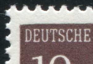 286I Brandenburger Tor 10 Pf. mit MICHEL-PLF I ** - geprüft Schlegel BPP