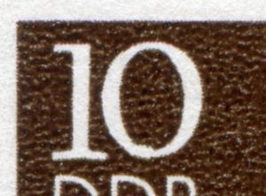 2853 Postmeilensäulen 10 Pf ER-Vbl mit PLF verdickte Null, Feld 11, ESSt Berlin