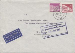 151+146 Stadtbilder Bf BERLIN 29.7.47 n. Bonn Minister für gesamtdeutsche Fragen