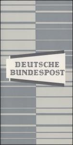 Ministerkarte Bund 416 Hauptstadt Hannover Typ IIIc, Marke ** und ESSt Bonn 1964