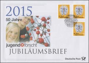 3160 Jubiläum 50 Jahre Jugend forscht 2015 - Jubiläumsbrief