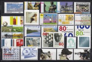 1641-1702 Niederlande-Jahrgang 1998 komplett, postfrisch