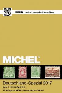 MICHEL Deutschland Spezial 2017 Band 1 (bis April 1945) GEBRAUCHT