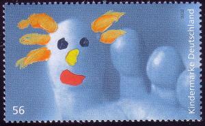 2280 Einzelmarke aus Block 60 Für uns Kinder - Zehfigur, postfrisch **