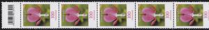 2547 Blumen 100 Cent aus 200er-Rolle, 11er Rollenende mit 3 Codierfeldern **