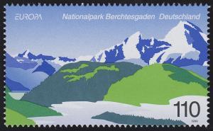 2046 Einzelmarke aus Block 47 EUROPA - Nationalpark Berchtesgaden, **
