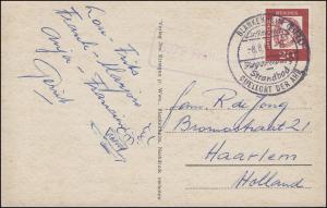 Landpost 5379 Freilingen AK Blankenheim/Ahr, SSt BLANKENHEIM/EIFEL 8.8.1963