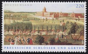 2476 Einzelmarke aus Block 66 Preußische Schlösser und Gärten, **