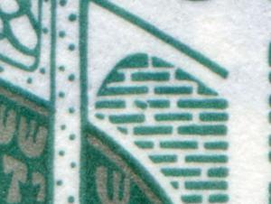 HBl. 31 aus MH 26 SWK 1989 mit PLF III [1342 III], Feld 3, postfrisch **