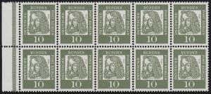 HBl. 11A aus MH 3 Dürer 1962, RLV II o 1, **