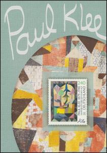 3195 Maler und Grafiker Paul Klee - EB 8/2015