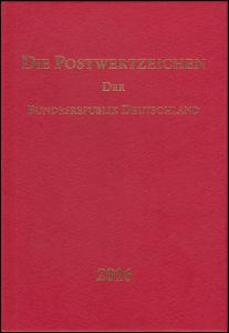 Jahrbuch Bund 2016, postfrisch komplett - wie von der Post verausgabt