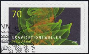 3356 Astrophysik Gravitationswellen, selbstklebend auf neutraler Folie EV-O Bonn