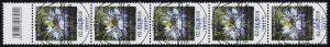 3351 Jungfer 145 Cent aus 200er-Rolle, 5er-Streifen mit Codierfeld, ESSt Berlin