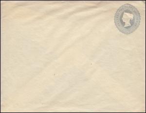 Großbritannien Umschlag U 12B Königin Viktoria 2 1/2 Penny 1892, ungebraucht **