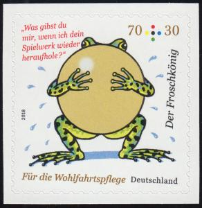 3364 Grimms Märchen: Der Froschkönig, selbstklebend aus MH 108, **
