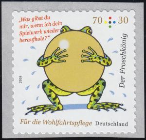 3364 Grimms Märchen: Der Froschkönig, selbstklebend aus der Rolle, **