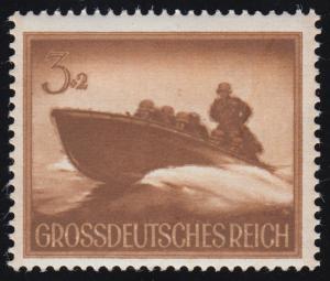 873 Heldengedenktag - stark verschwommener Druck, Inschrift braun statt weiß, **