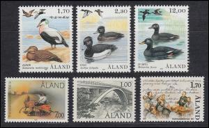 20-25 Aland-Jahrgang 1987 komplett, postfrisch **