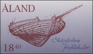Aland-Markenheftchen 3 Segelboote der Schären, postfrisch **