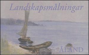 Aland-Markenheftchen 11 Gemälde Sommerlandschaft, postfrisch **