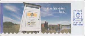 Aland-Markenheftchen 266 Meine Marke - Briefkasten, selbstklebend **