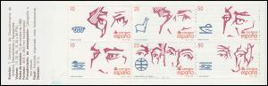 Spanien, Markenheftchen 6, Entdeckung von Amerika 1988, ** postfrisch / MNH