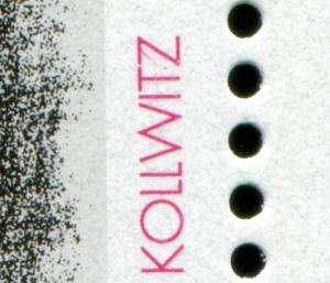 1855 Europa 100 Pf - 10er-Bogen mit PLF Z von KOLLWITZ mit Strich, Feld 10, **