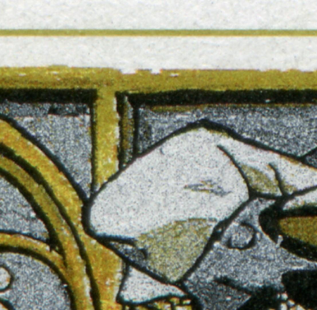 1786 Regensburg - 10er-Bogen mit 2 PLF auf Feld 1 und 6, ** 0