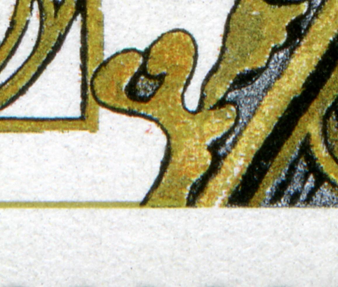 1786 Regensburg - 10er-Bogen mit 2 PLF auf Feld 1 und 6, ** 1
