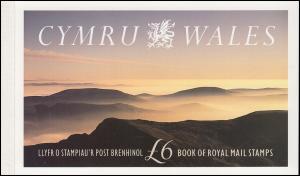Großbritannien-Wales Markenheftchen 1 Schafe / Sheep, ** postfrisch