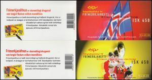 Island Markenheftchen 890-891 Europa - Nationale Feste und Feiertage, MH-Paar **