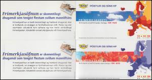 Island Markenheftchen 872-873 Europa - Sagen und Legenden, MH-Paar ** postfrisch