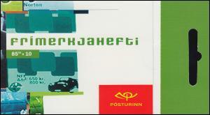 Island Markenheftchen 1039 Europa - Plakatkunst 850 Kr, ** postfrisch