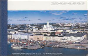 Finnland Markenheftchen 57 Helsinki - Kulturhauptstadt Europas, ESSt 12.1.2000