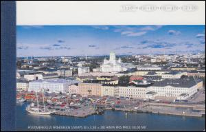 Finnland Markenheftchen 57 Helsinki - Kulturhauptstadt Europas, gestempelt