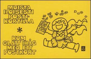 Finnland Markenheftchen 10I Staatswappen 1978, ** postfrisch