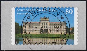 3128 Schloss Ludwigslust selbstklebend von der Rolle, VS-O Berlin 7.5.15