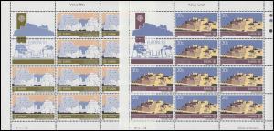 Malta 680-681 Europa Große Werke des menschlichen Geistes, Kleinbogen-Satz **