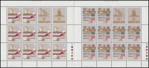 Malta 594-595 Europa Post- und Fernmeldewesen, Kleinbogen-Satz **
