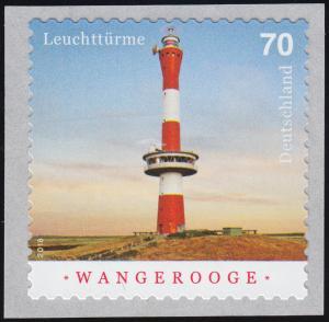 3396 Leuchtturm Wangerooge, selbstklebend aus Rolle, **
