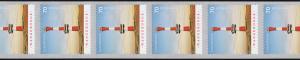 3396 Leuchtturm Wangerooge selbstkl. 11er-Streifen Rollenanfang 100-95-90, **