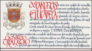 Portugal-Markenheftchen 1720 BuS Kastell Trancoso, postfrisch