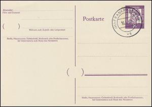 P 50 - Gutenberg 8 Pf Antiqua, VS-O Frankfurt / Main
