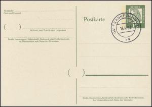 P 51 - Dürer 10 Pf Antiqua, VS-O Frankfurt / Main
