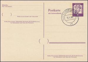 P 53 - Gutenberg 8/8 Pf Antiqua, VS-O Frankfurt / Main