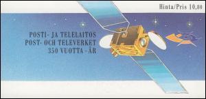 Finnland Markenheftchen 23 Post- und Fernmeldewesen, ** postfrisch