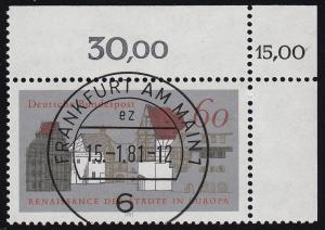 1184 Europäisches Denkmalschutzkampagne Renaissance der Städte - KBWZ O FfM